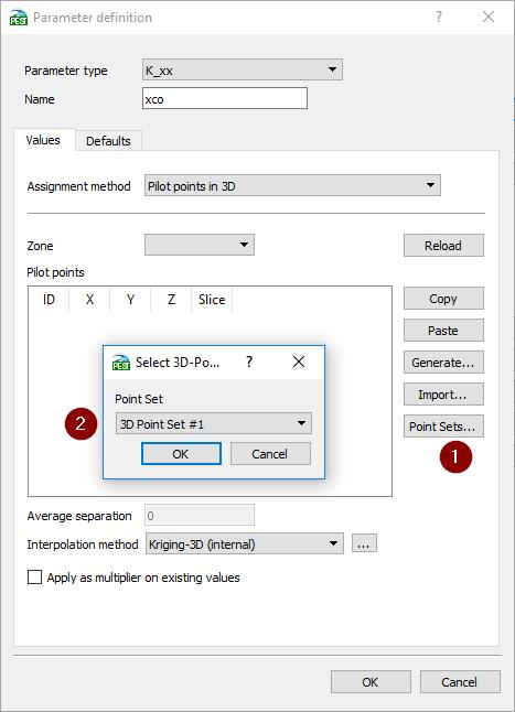 FePEST 7.1 Documentation - Parameter Settings